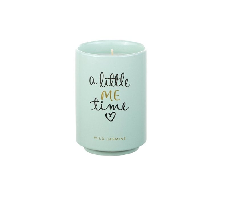 A Little Me Time Wild Jasmine Candle