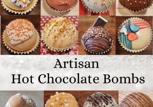 Artisan Flavored Hot Chocolate Bombs