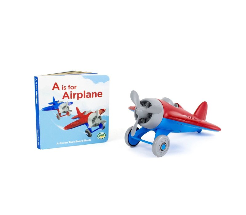 Airplane & Board Book Set