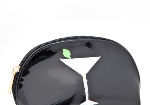 Black Small Molly Case with Martini Glass
