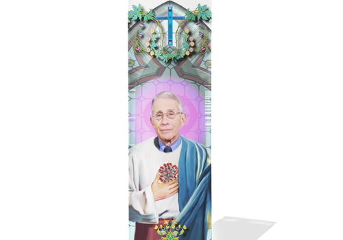 Dr. Fauci Prayer Candle
