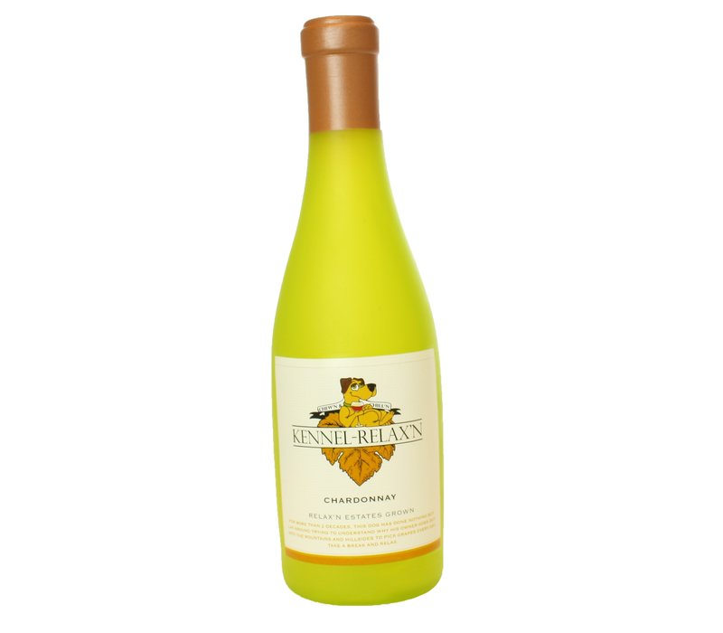 Silly Squeaker Wine Bottle Kennel-Relax'n
