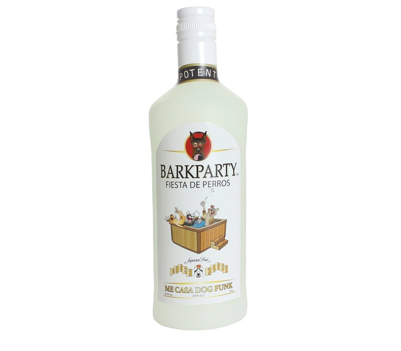 Silly Squeaker Liquor Bottle BarkParty
