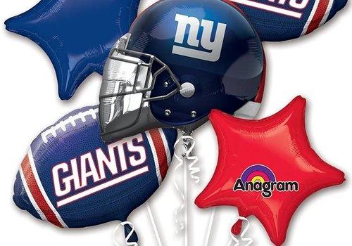 NFL Giants Balloon Bouquet