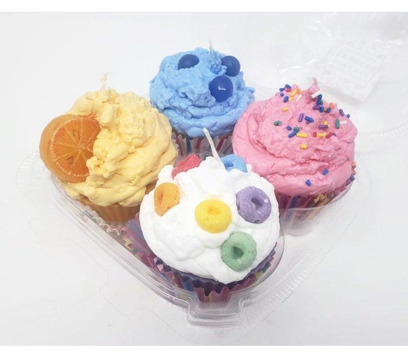 Cupcake Candle 4 PK