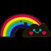 Vanilla Scented Rainbow Buddy Jumbo Eraser