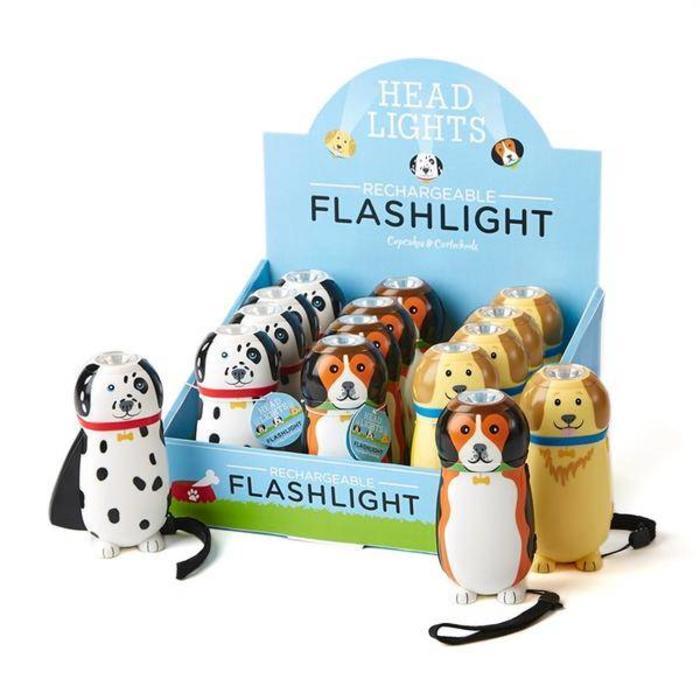 Rechargeable Dog Flashlight