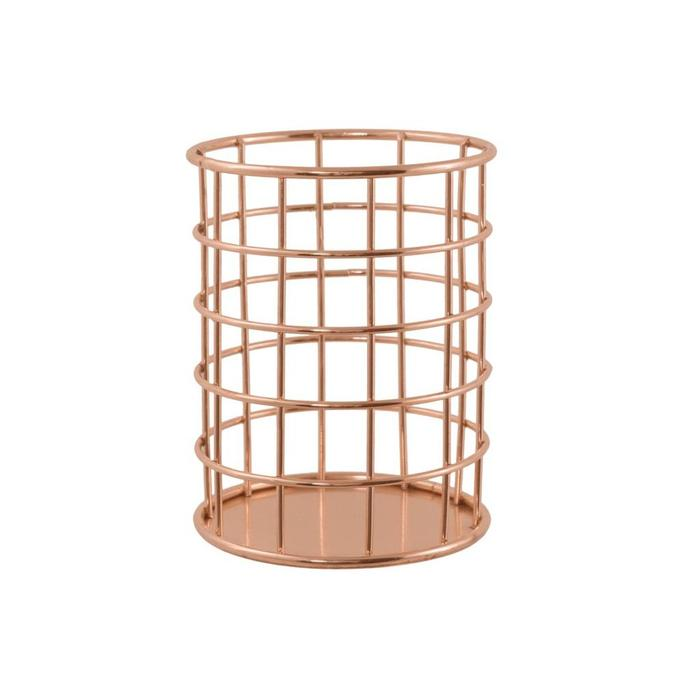 Desk Organizer Copper Pencil Cup