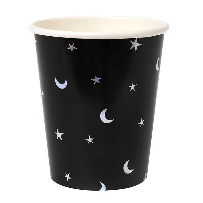 STAR AND MOON FOILED CUP