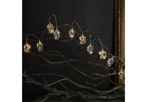 Skull Mercury LED String Lights
