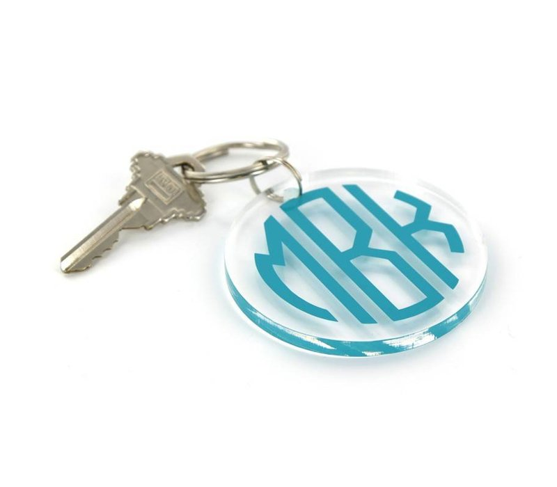 Personalized Round Key Ring