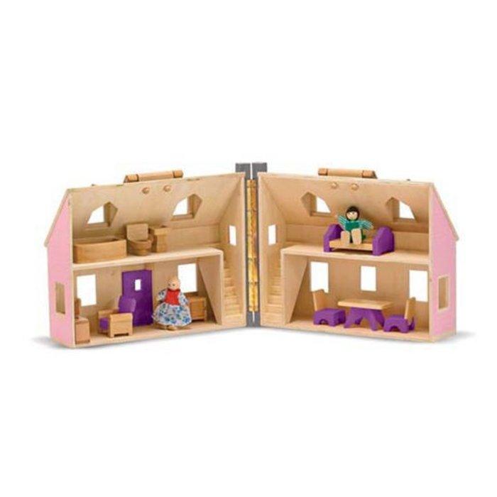 Fold and Go Dollhouse