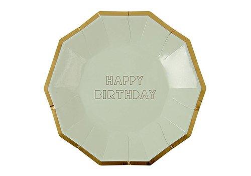 HAPPY BIRTHDAY LG PLATE S/8