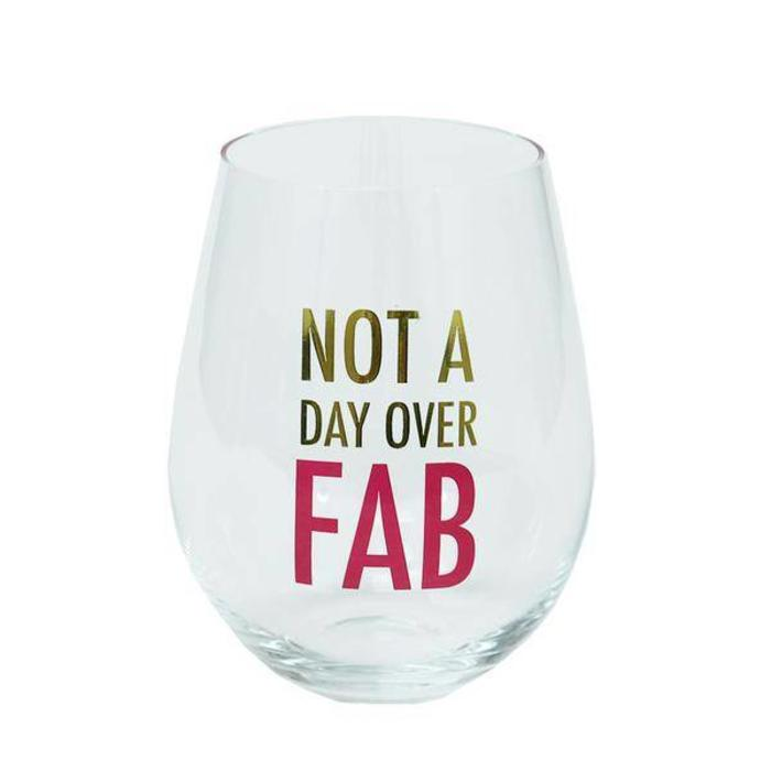 Stemless Wine Glass Fabulous