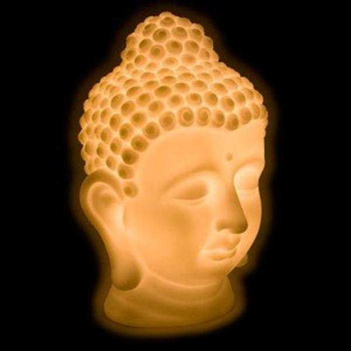 Buddha Bust Led Light