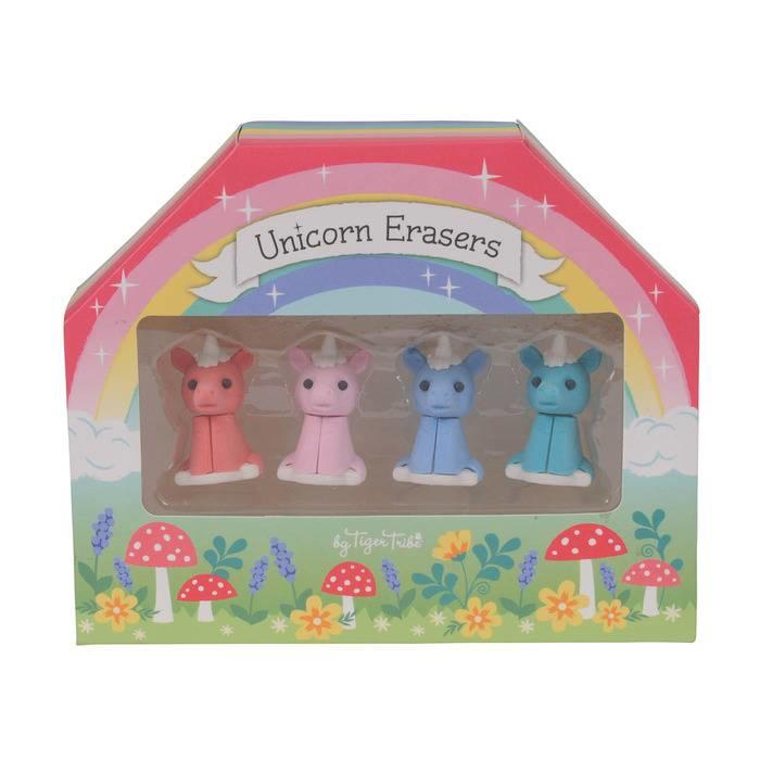 Unicorn Erasers Set