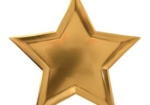 Gold Star Plates- Small