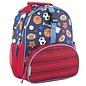 All over print mini backpack sports