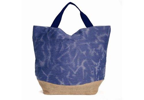 Denim Beach Bag