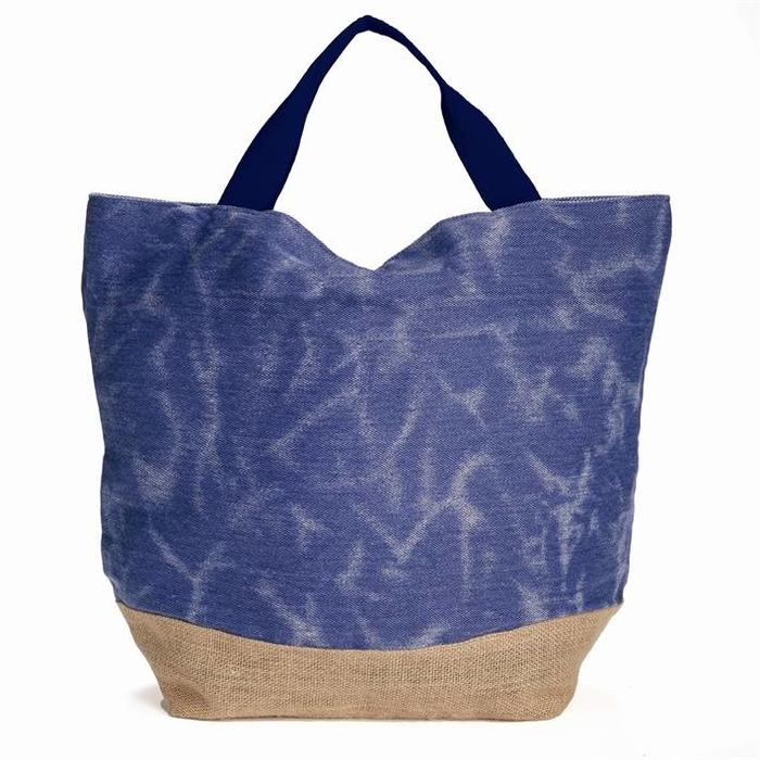 Denim Beach Bag