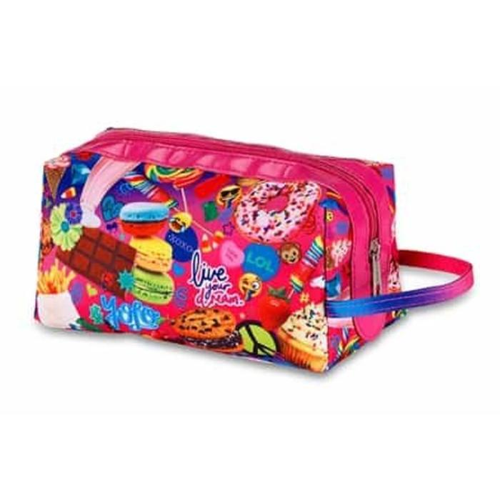 Tasty Print Scented Cosmestic Bag