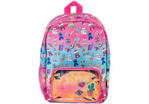 Gradient Doodle Backpack