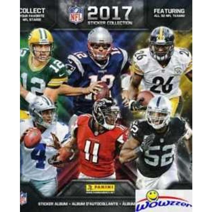 NFL Sticker Collection Book