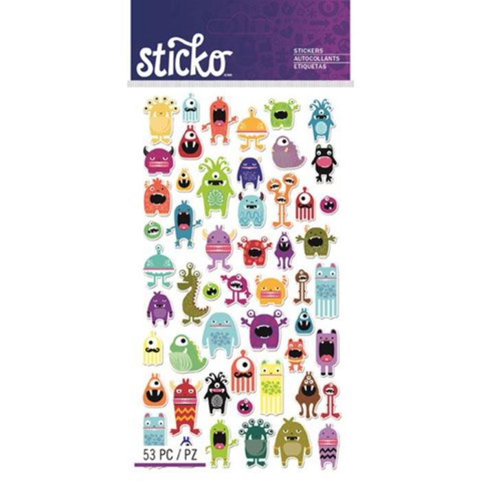 Monster Sticko Stickers
