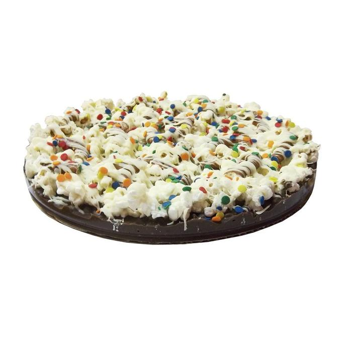 Gourmet Chocolate Pizza- Decorated