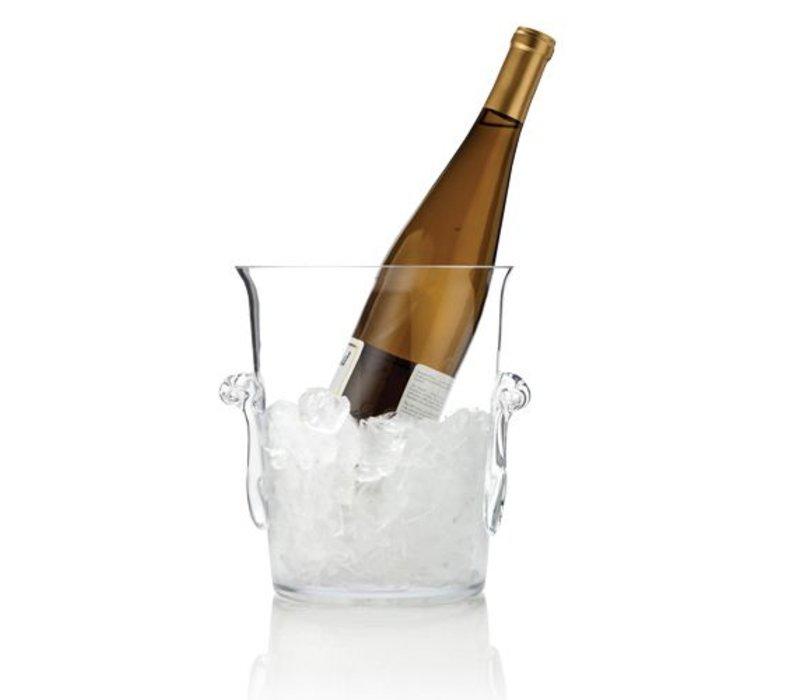 Raye Glass Ice Bucket