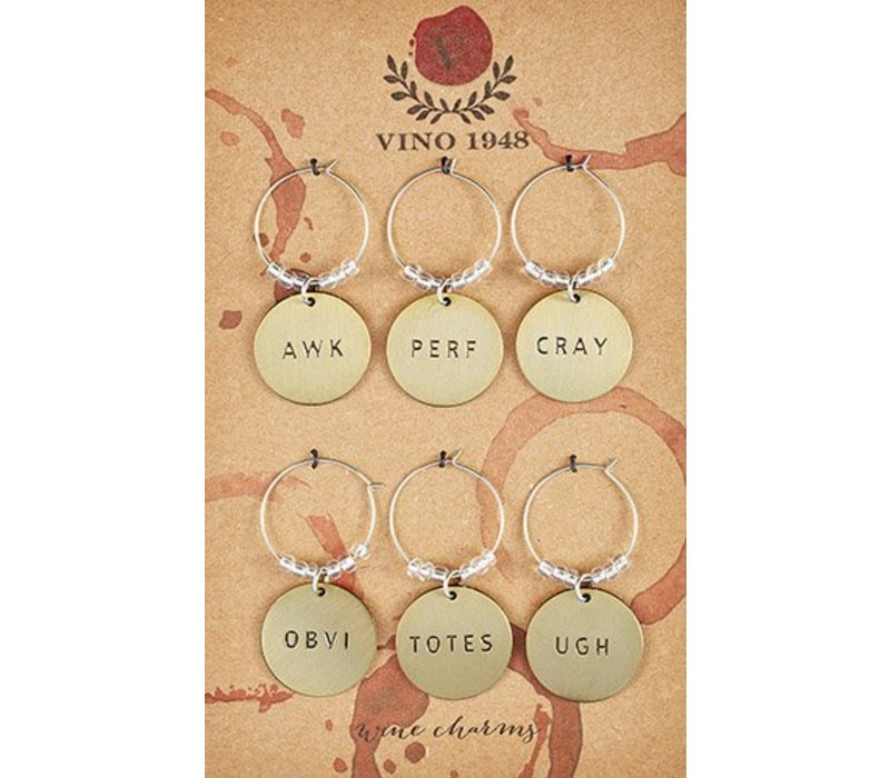 Awk Perf Cray Wine Charms