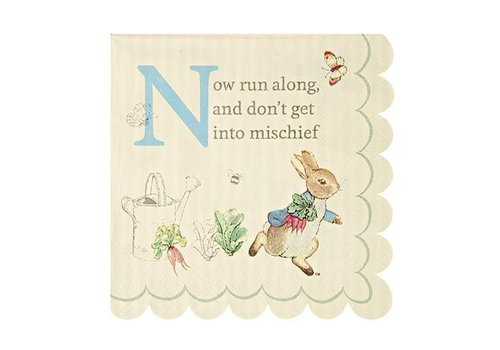 Meri Meri Peter Rabbit Small  Napkin