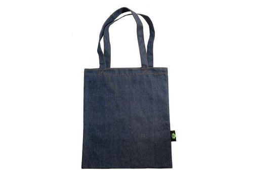 Natalia Denim Tote with Inner Pocket