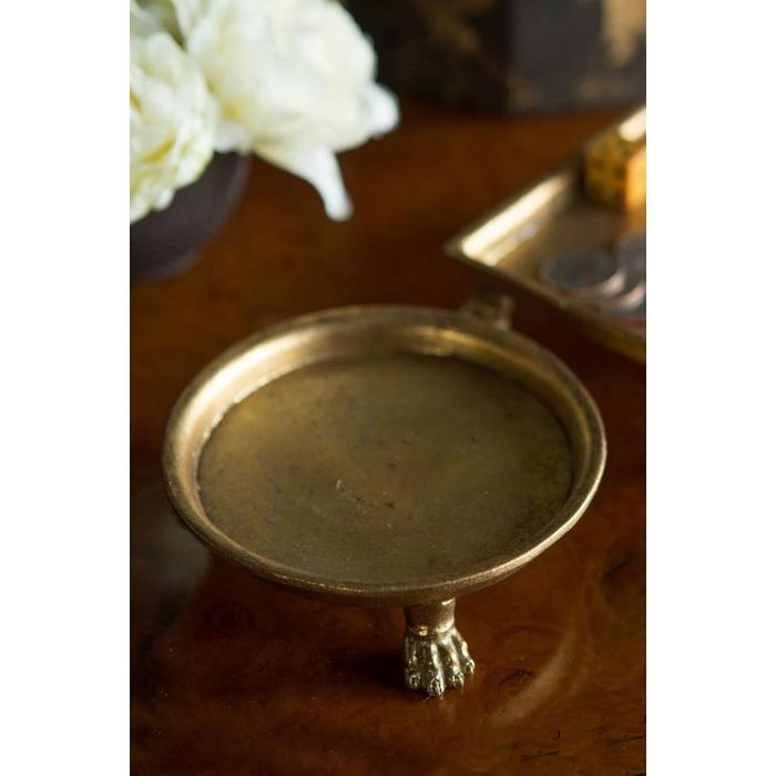 Square Vintage Claw foot Candle holder