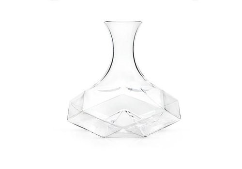 True Brands Raye™ Faceted Lead Free Crystal Decanter by Viski