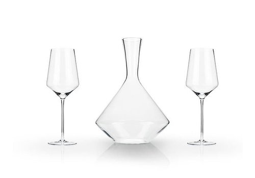 True Brands Raye Bordeaux Gift Set (Set of 3) by Viski