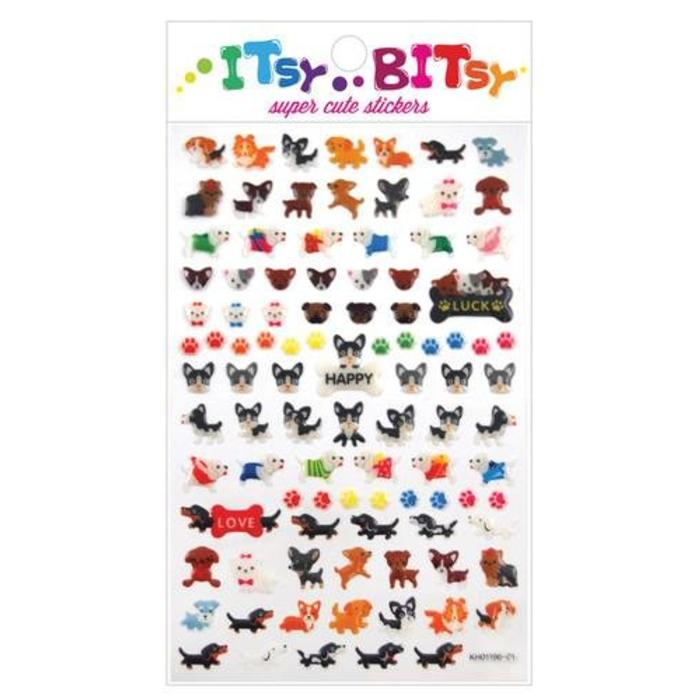 Itsy Bitsy: Pooches Stickers