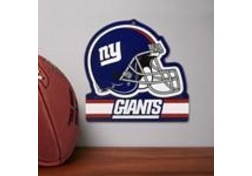 Party Animal New York Giants Embossed Metal Helmet Sign