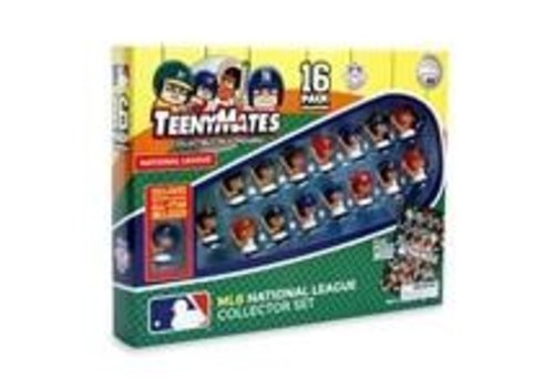 Party Animal Teenymates MLB National League Batter 16 Pack