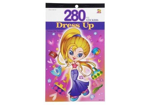 Darice Dress Up Sticker Book
