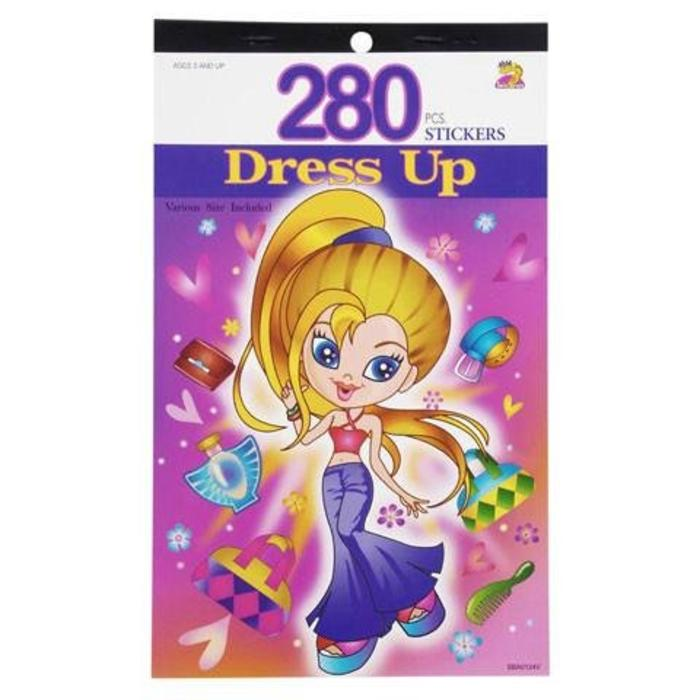 Dress Up Sticker Book