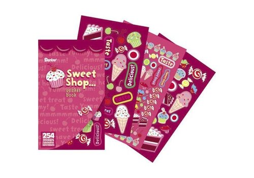 Darice Sweet Shop Sticker Book