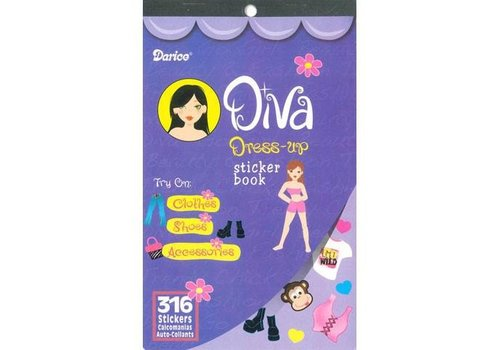 Darice Diva Sticker Book