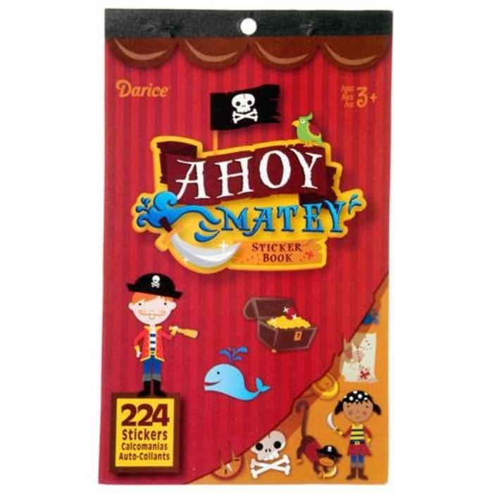 Ahoy Matey Sticker Book