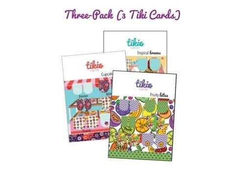 Tiki TIki Nail Sticker Trading Cards