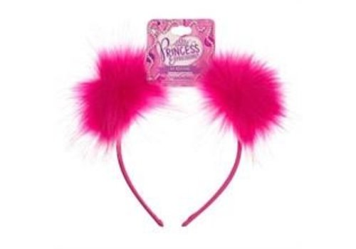 Almar Faux Fur Pom Pom Headband