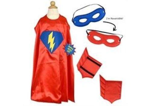 Almar Super Hero Dress Up Kit, Red
