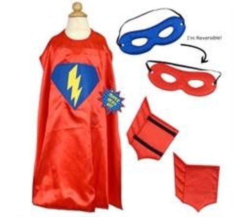 Super Hero Dress Up Kit, Red