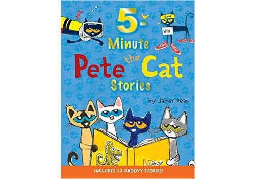 Harper Collins Pete the Cat 5 Minute Stories