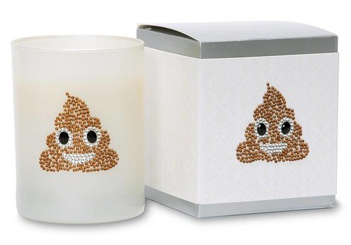 Primal Elements Pile of Poo  Icon Candle